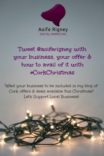 #CorkChristmas Poster